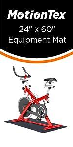 """24"""" x 60"""" fitness equipment mat"""