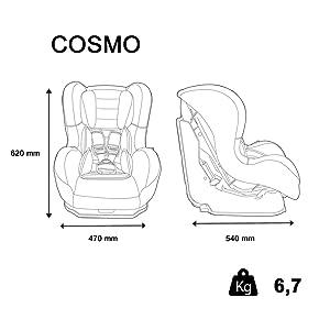 siege auto, siege cosmo