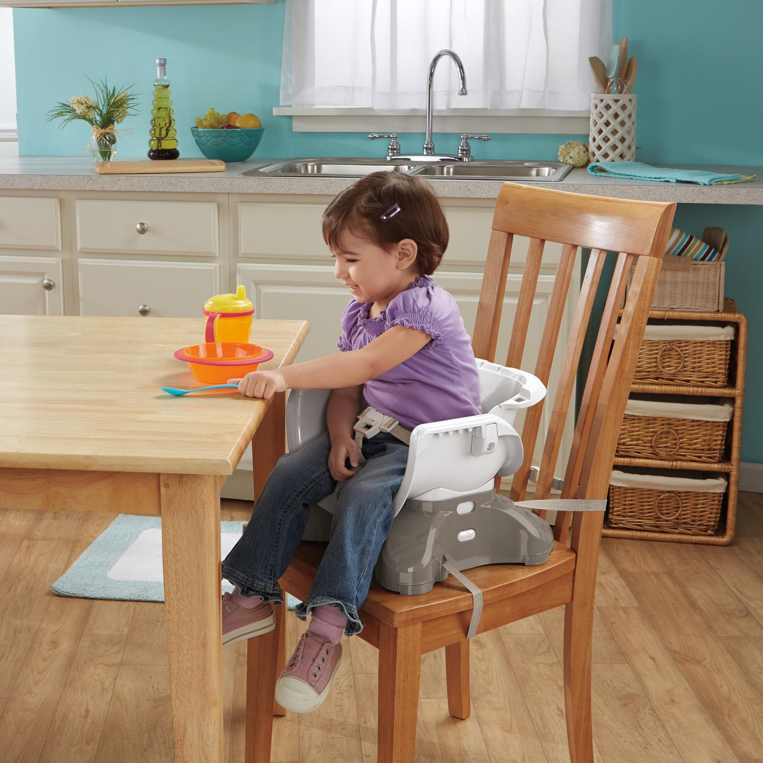 Space saver high chair boy - And It Grows With Baby The Fisher Price Spacesaver High Chair