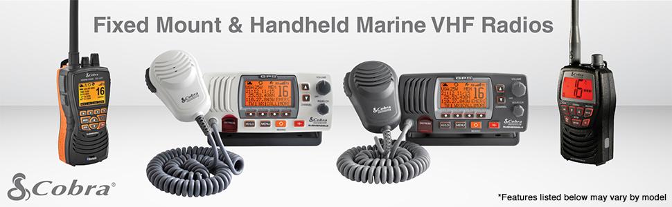 Cobra Marine Radios