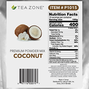 tea zone coconut powder,premium powder mix,real coconut powder mix,flavoring powder mix