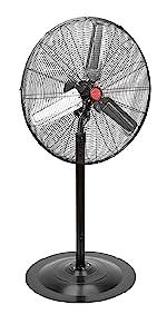 warehouse fan; high speed fan; oscillating wall fan