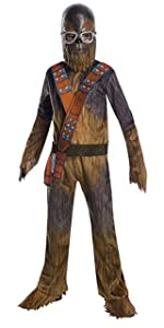 deluxe chewbacca child costume