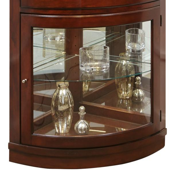Amazon Com Pulaski Corner Curio 34 By 23 By 78 Inch