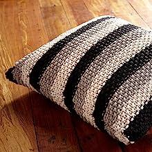 bernat maker home decor yarn knit craft crochet blanket pillow