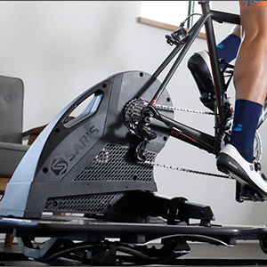 Saris 9830T H3 Direct Drive Smart Equipped Smart Trainer Electromagnetic Black