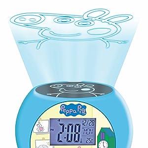 Lexibook - Despertador Digital, Azul (Peppa Pig): Amazon.es ...