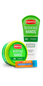 O'Keeffe's Working Hands and Cooling Relief Lip Repair Variety Pack
