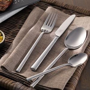 Zwilling Bela - Set de cubiertos de mesa, 42 piezas, acero inoxidable, 35 x 25 x 10 cm: Amazon.es: Hogar