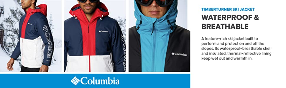 Columbia Men's Timberturner Ski Jacket