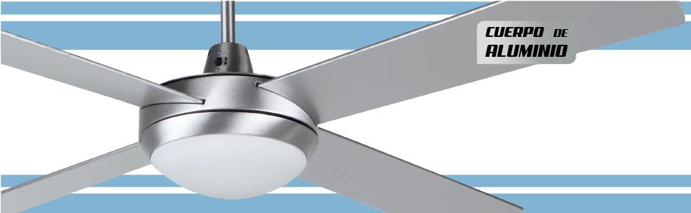 Orbegozo CP 77132 - Ventilador de techo con luz, mando a distancia ...