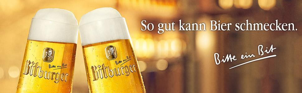 Bitburger Premium Pils Mehrweg (6 x 0.33 l)