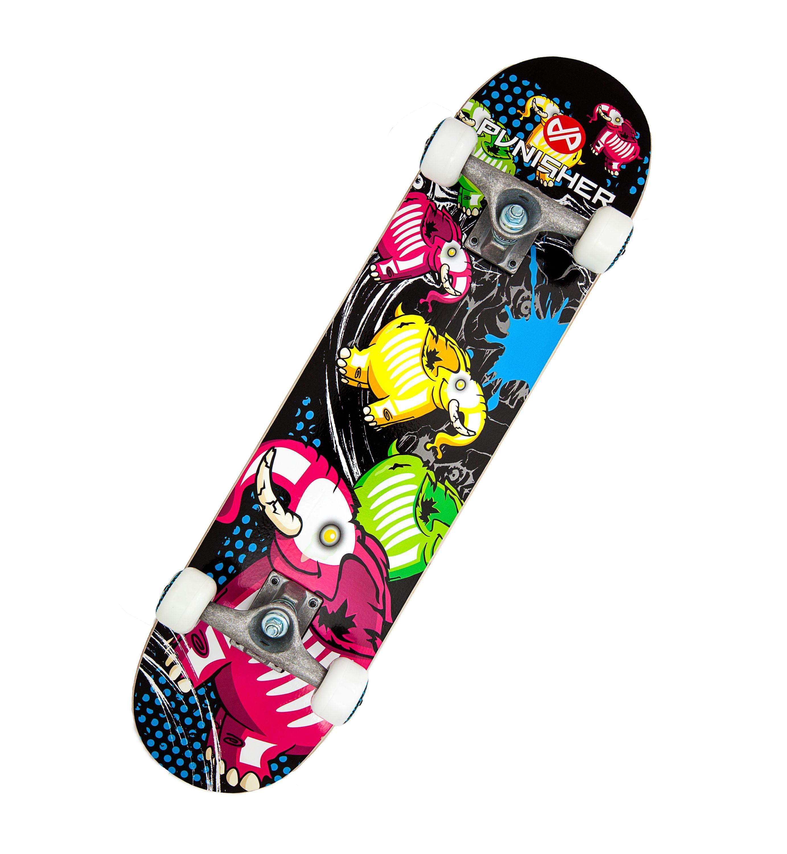 amazon com punisher skateboards elephantasm complete 31 inch