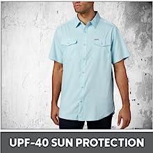 UPF-40 Sun Protection