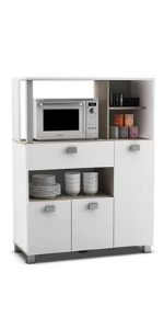 Abitti Mueble Auxiliar para Cocina con Tres Puertas y un ...