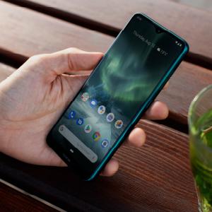 Nokia 7.2 screen