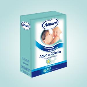 Nenuco Pack Regalo Bebé Mochila de Paseo Azul 4 x 200ml con Colonia, Jabón, Champú y Leche Hidratante