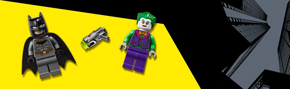 Lego 76119 Batmobile: Pursuit of The Joker Super Heroes Batman Toy,  Multicolour, L x H x W (354 x 191 x 70 mm)
