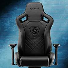 Para aquellos que buscan un verdadero confort, la SGS5 ofrece un respaldo extra algo y un generoso área de 42 x 49 cm en el asiento. La silla gaming soporta ...
