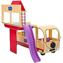 jazwares;peppa pig;trasnforming campervan;toys