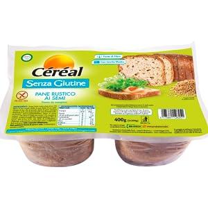 pane senza glutine, pane rustico senza glutine, pane semi senza glutine, pane ai semi, cereal pane