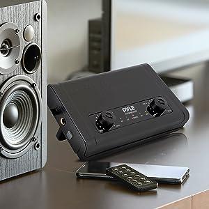 Pro Portable Dual Channel Desktop Digital Mic Receiver Set