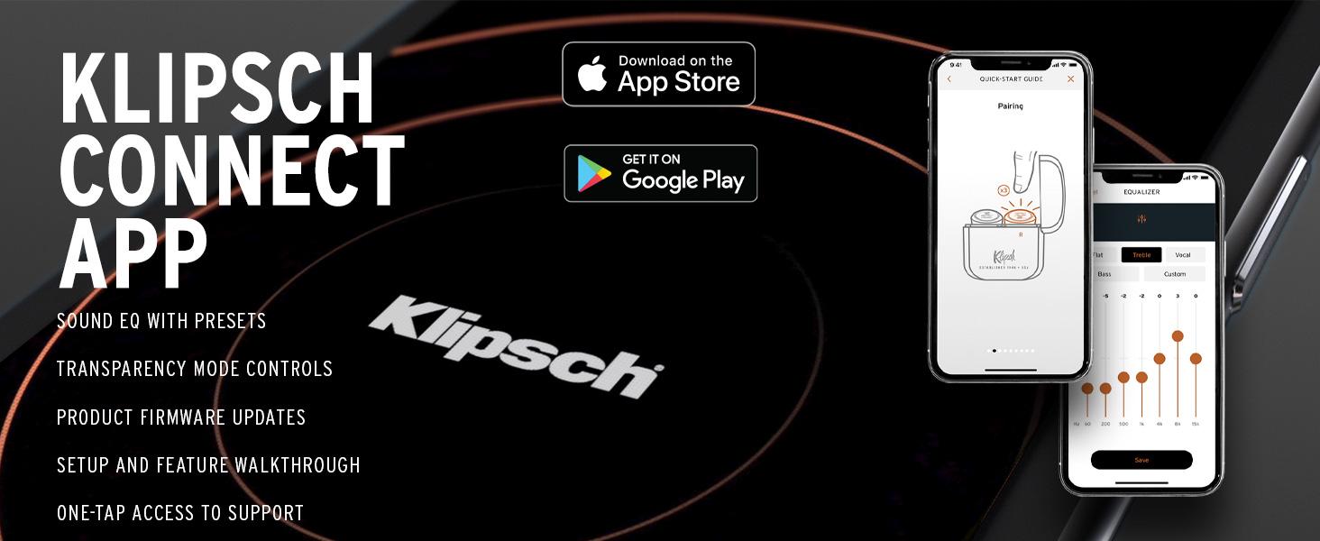 KLIPSCH T5 II TRUE WIRELESS EARPHONES, EARBUDS, Klipsch True Wireless, headphones