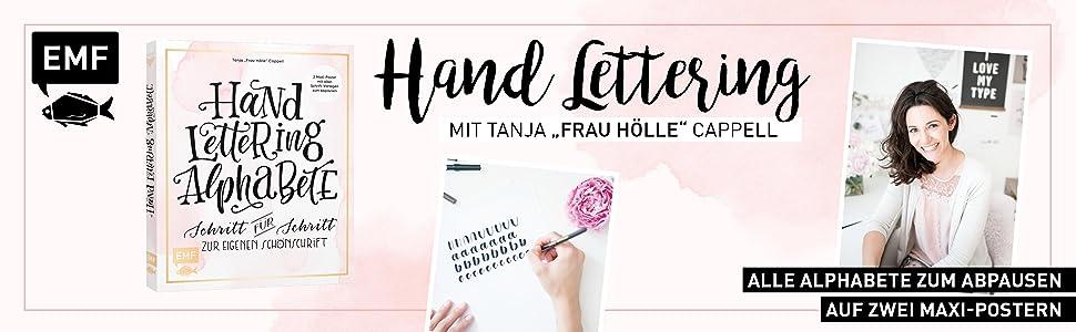 Handlettering Alphabete: Schritt für Schritt zur eigenen