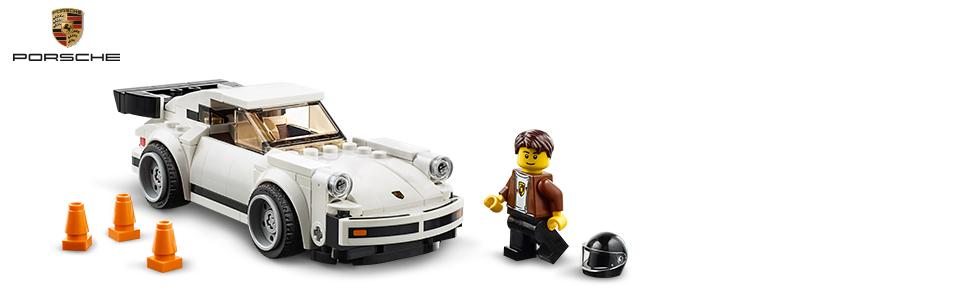 LEGO Speed Champions 1974 Porsche 911 Turbo 3 0 75895 Building Kit, New  2019 (179 Pieces)