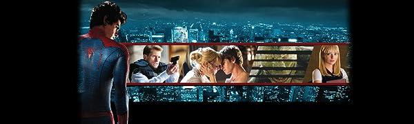 Blu-ray, DVD, Amazing Spider-man, Andrew Garfield, Emma Stone