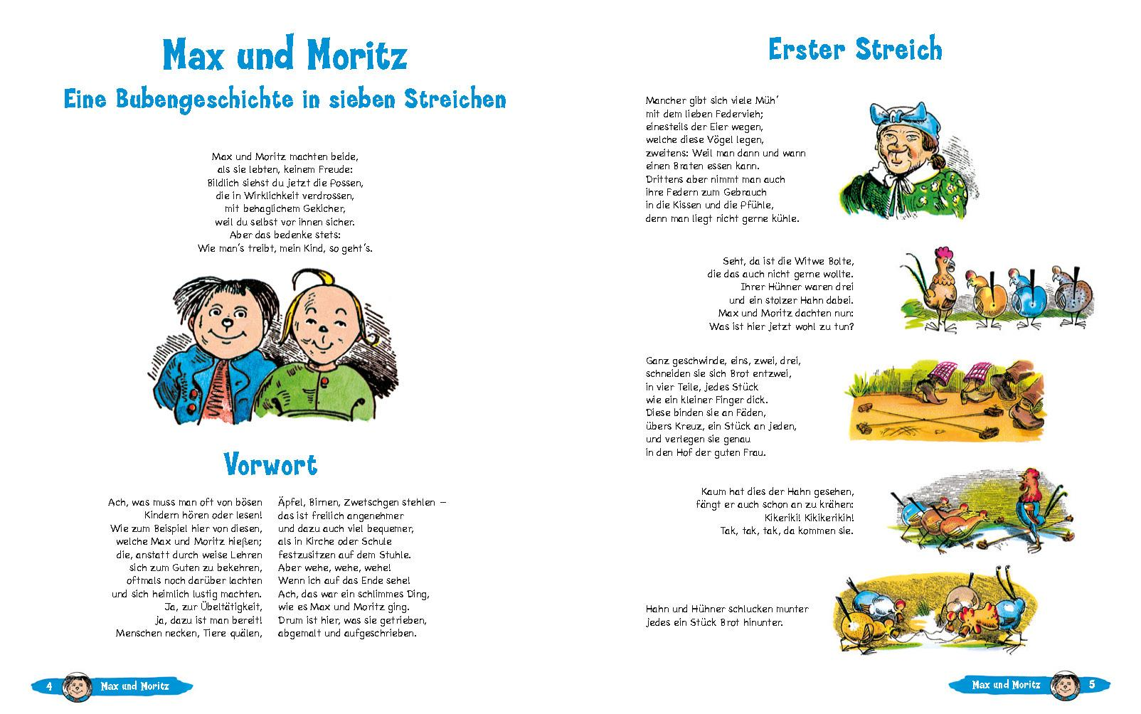 Wilhelm Busch Geschichten Für Kinder Amazonde Wilhelm