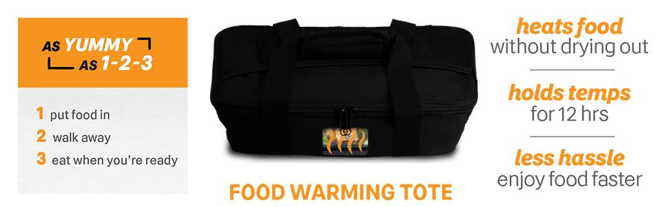 Food warming tote