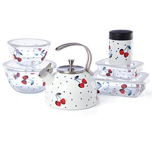 cherry dot, vintage cherry dot, ksny, ksny kitchen, kate spade, kate spade kitchen, kate spade dish
