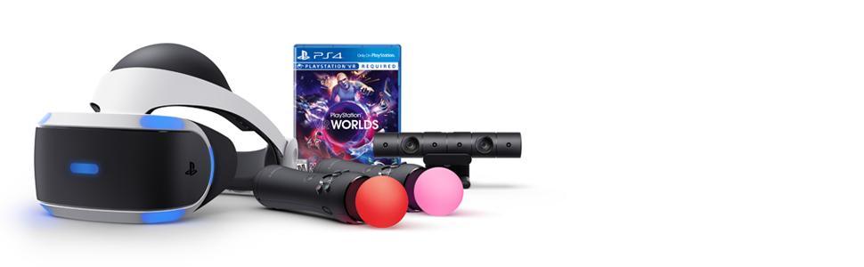 Amazon.com: PlayStation VR - Worlds Bundle [Discontinued
