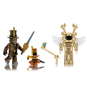 Roblox Mech Battles Build A Boat For Treasure Amazon Com Roblox Action Collection Simoon68 Golden God Chillthrill709 Two Figure Bundle Includes 2 Exclusive Virtual Items Toys Games