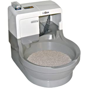 litter free self scooping automatic cat box self cleaning self washing cat genie auto litter box