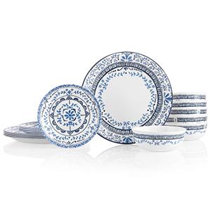 Portofino 18 Piece Dinnerware Set