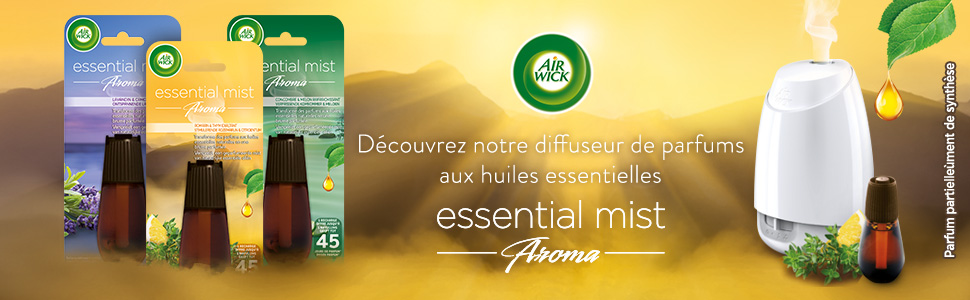 Essential Mist diffuseur d'huiles essentielles