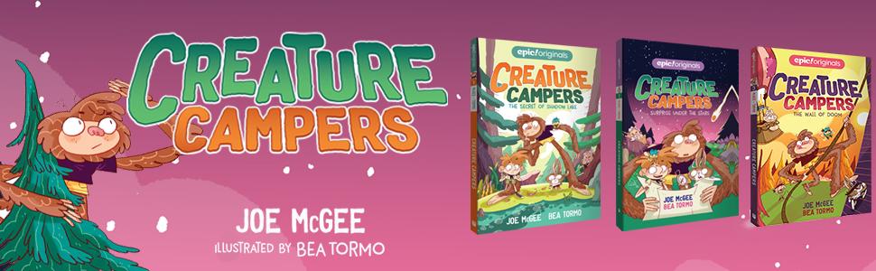 The Secret Of Shadow Lake Creature Campers Book 1 Mcgee Joe Tormo Bea 0050837431881 Amazon Com Books