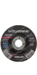 Wolverine AO Grinding Wheels