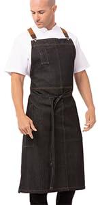 Chef Works Unisex Berkeley Chefs Bib Apron