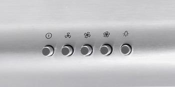 5MU30, 5MU36, Range Hood, Under Cabinet, Push Button, Stainless Steel, Cosmo Brand, LED Lights