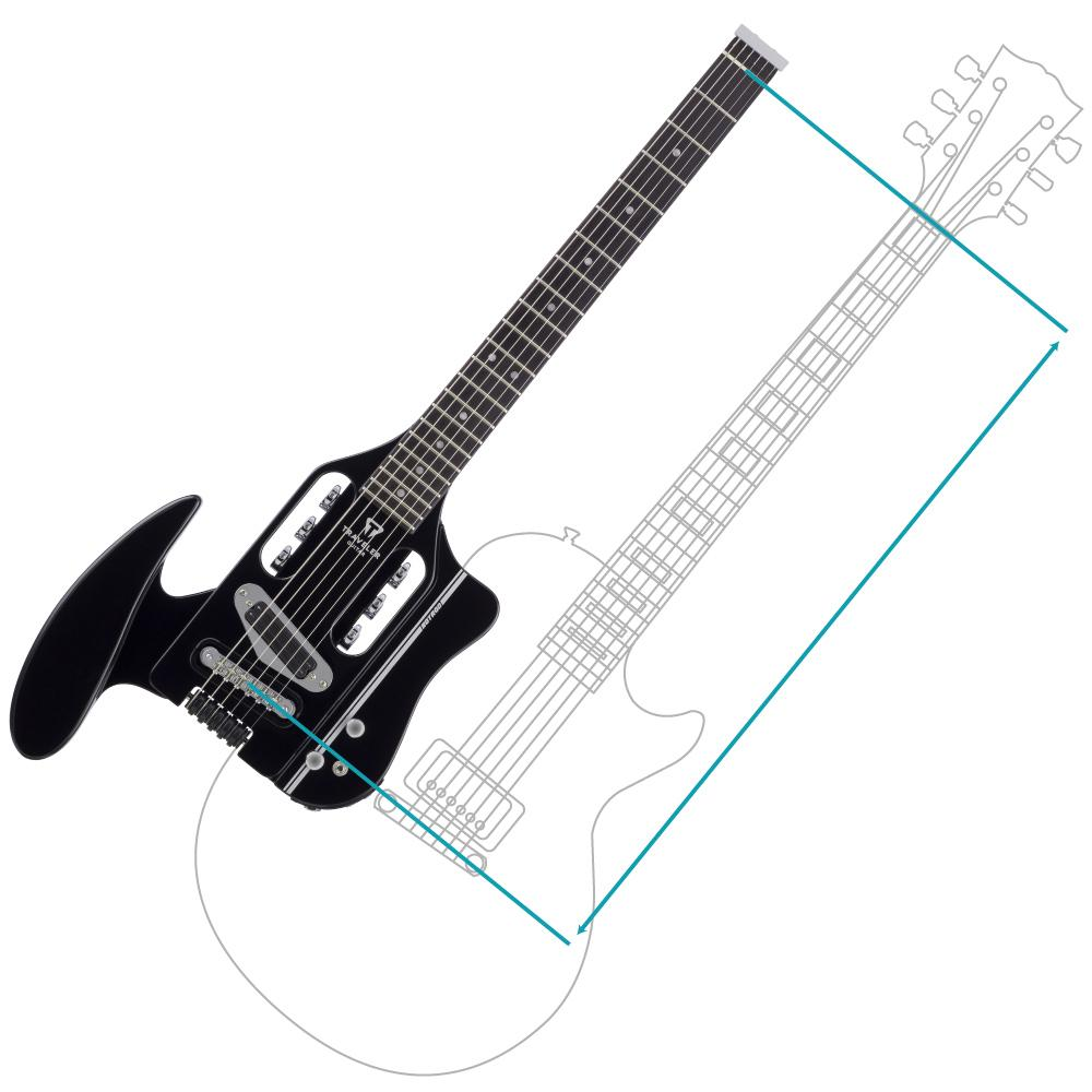 amazon com  traveler guitar spd hrb v2 speedster hot rod electric travel guitar  black  musical