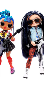 LOL Surprise OMG Remix Rocker Boi and Punk Grrrl 2-Pack