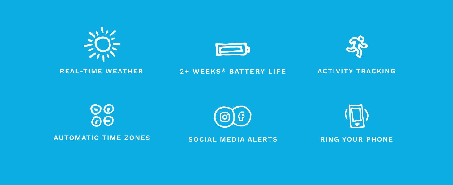Skagen Smart Watch Smartphone Notifications Activity tracker