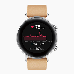 HUAWEI TruSeen version 3.5 to provide a more efficient and accurate real-time heart rate