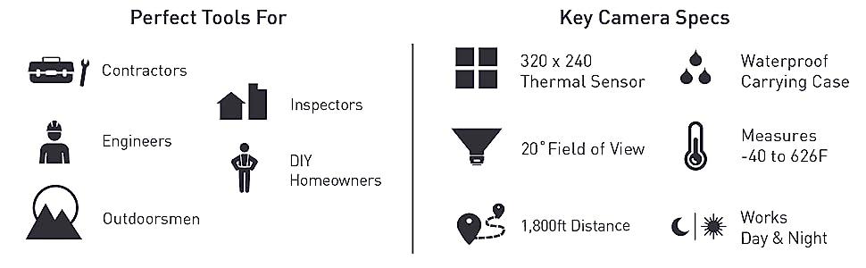 Seek Thermal, CompactPRO, thermal imaging camera, thermal, photo, video, thermography, camera, Seek