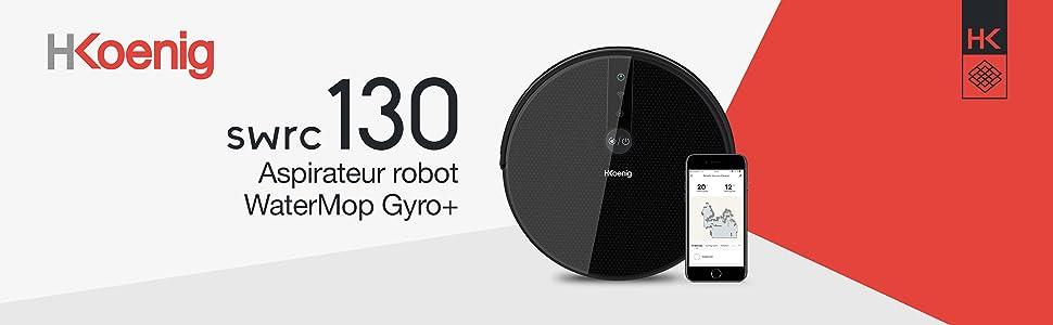 SWRC130 ASPIRATEUR ROBOT WATERMOP GYRO+