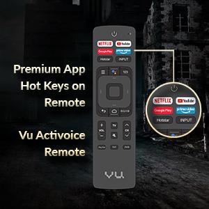 Smart Remote, Hotkeys on Remote