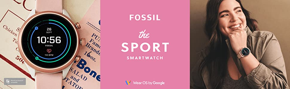Fossil Sport Smartwatches